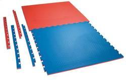 Puzzlematte Checker 2,0 cm rot-blau