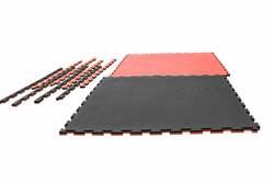 Puzzlematte Grappling 2cm, schwarz-rot