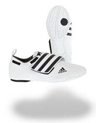 Taekwondo Schuh Adi Dyna, Weiß - Schwarz