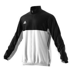 Adidas T16 Teamjacke Männer AJ5382, Schwarz Weiß