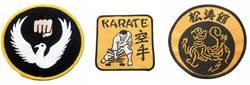 Karateaufnäher