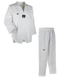 Taekwondoanzug ADI CHAMP III weißes Revers