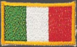Stickabzeichen Italien