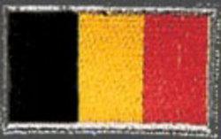 Stickabzeichen Belgien