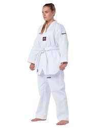 Taekwondo-Anzug Victory, weißes Revers