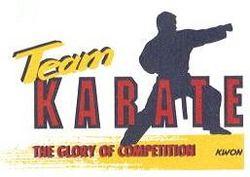 Druckmotiv Team Karate