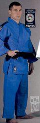 Judoanzug Ippon blau