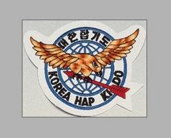 Stickabzeichen Korea Hapkido