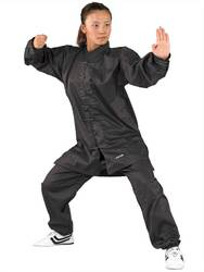 Tai Chi und Qi Gong Anzug schwarz
