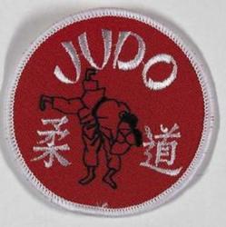 Aufnäher Judo rot