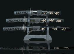 Mini-Deko-Schwert 3-er Set