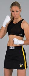 Kickboxen Rock schwarz-gelb