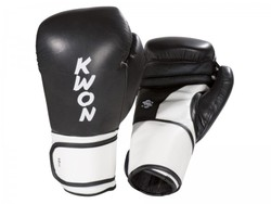 Boxhandschuhe Super Champ, schwarz-weißBoxhandschuhe Super Champ, schwarz-weiß