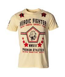 T-Shirt Fightnature Heroic Fighter Gelb