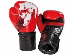 Legion Octagon Helmet Boxhandschuhe, Rot