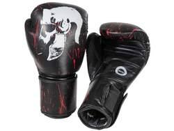 Legion Octagon Helmet Boxhandschuhe, Schwarz