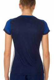 Adidas T16 ClimaCool T Shirt Damen AJ5440, Navy Blau Royal Blau
